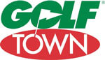 full service conference golf town logo yearly conference
